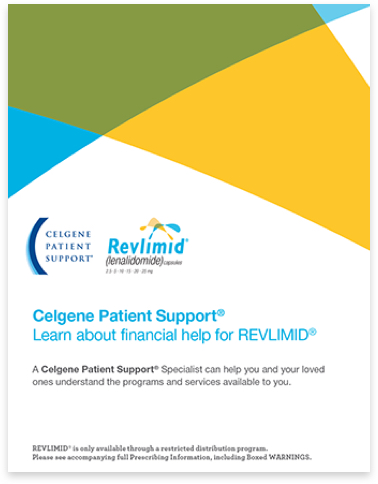 REVLIMID® Financial Assistance Brochure