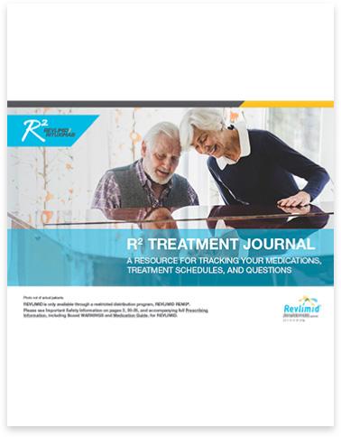 REVLIMID® + rituximab Patient treatment journal