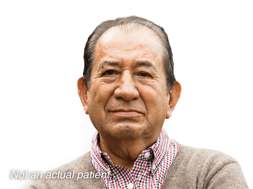 A hypothetical patient with del 5q myelodysplastic syndromes