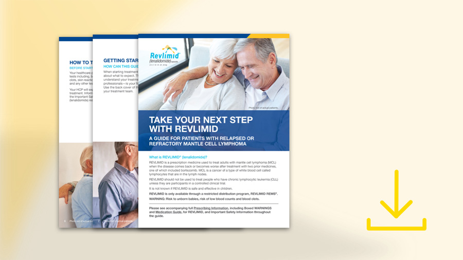 Patient Brochure Download – REVLIMID® Resources and Support